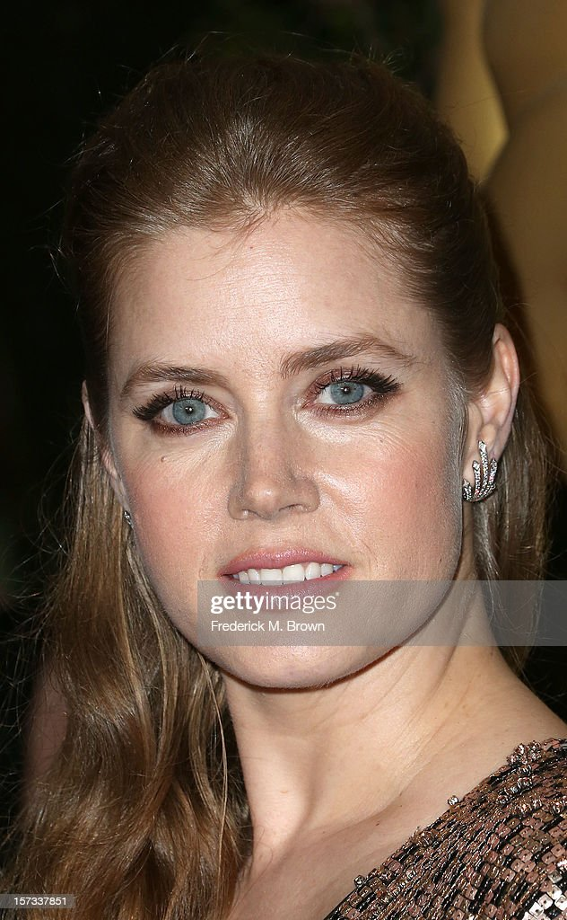 Actress <a gi-track='captionPersonalityLinkClicked' href=/galleries/search?phrase=Amy+Adams&family=editorial&specificpeople=213938 ng-click='$event.stopPropagation()'>Amy Adams</a> attends the Academy Of Motion Picture Arts And Sciences' 4th Annual Governors Awards at Hollywood and Highland on December 1, 2012 in Hollywood, California.