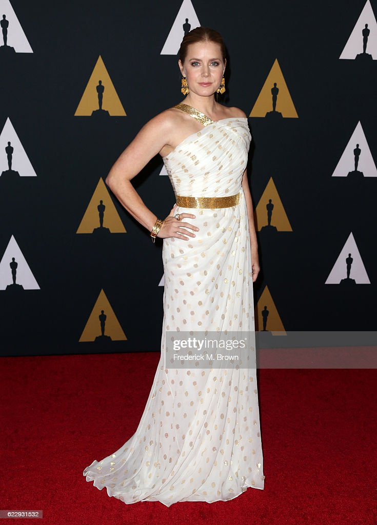 Actress Amy Adams attends the Academy of Motion Picture Arts and Sciences' 8th annual Governors Awards at The Ray Dolby Ballroom at Hollywood & Highland Center on November 12, 2016 in Hollywood, California.