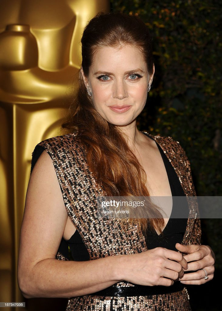 Actress Amy Adams attends the Academy of Motion Pictures Arts and Sciences' 4th annual Governors Awards at The Ray Dolby Ballroom at Hollywood & Highland Center on December 1, 2012 in Hollywood, California.