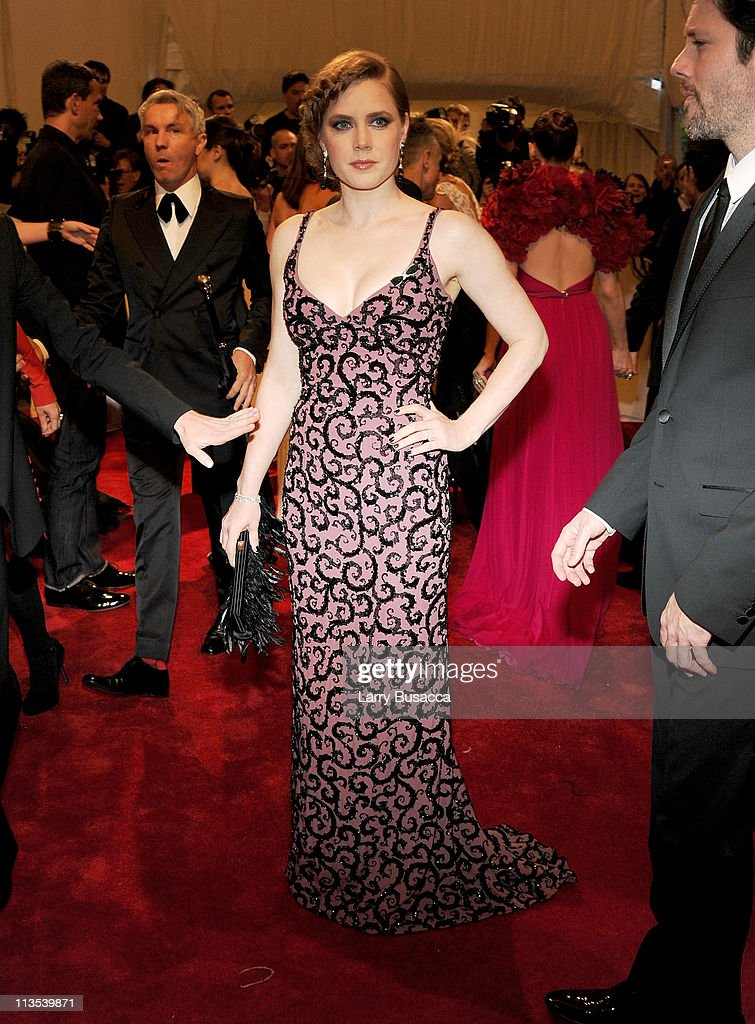 Actress Amy Adams attends the 'Alexander McQueen: Savage Beauty' Costume Institute Gala at The Metropolitan Museum of Art on May 2, 2011 in New York City.