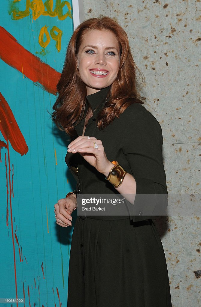 Actress Amy Adams attends the 'Big Eyes' New York Premiere After Party at Kappo Masa on December 15 2014 in New York City