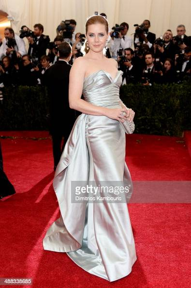 Actress Amy Adams attends the 'Charles James Beyond Fashion' Costume Institute Gala at the Metropolitan Museum of Art on May 5 2014 in New York City