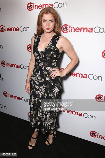 Actress Amy Adams attends the CinemaCon 2016 Gala Opening Night Event Paramount Pictures Highlights its 2016 Summer and Beyond Films at The Colosseum...