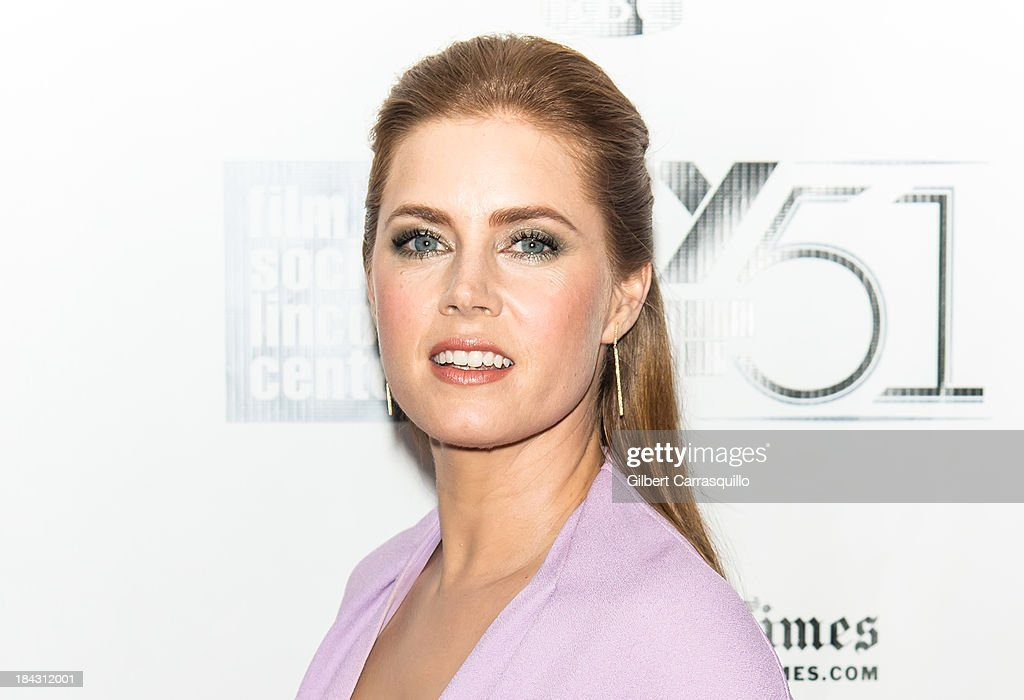 Actress Amy Adams attends the Closing Night Gala Presentation Of 'Her' during the 51st New York Film Festival at Alice Tully Hall at Lincoln Center on October 12, 2013 in New York City.