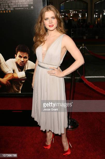 Actress Amy Adams attends 'The Fighter' Los Angeles premiere on December 6 2010 in Hollywood California