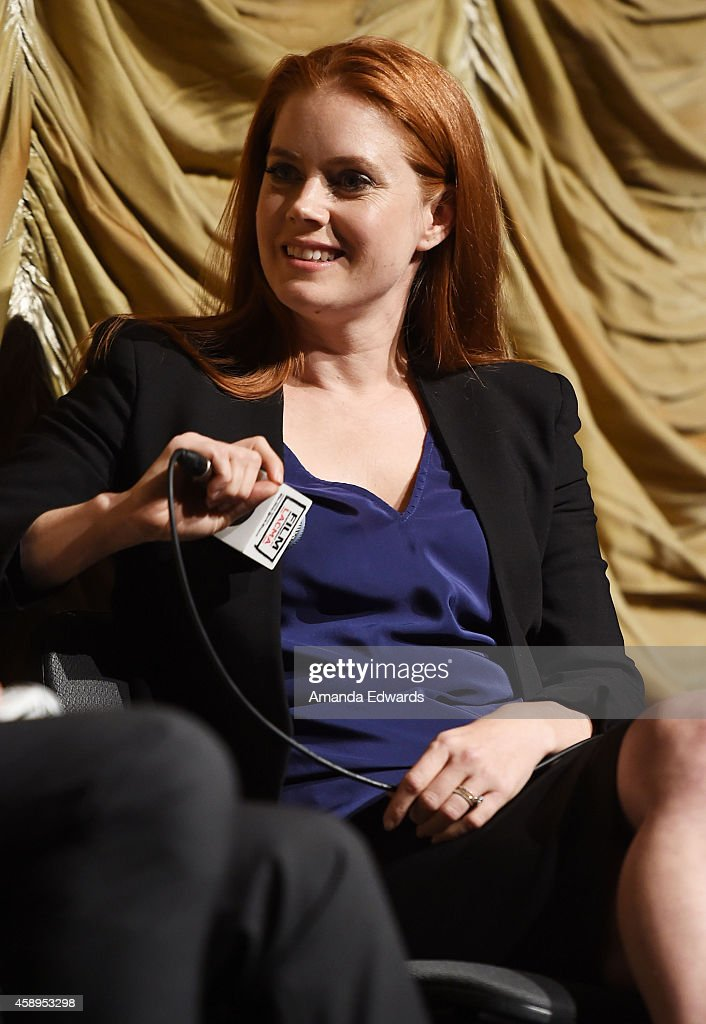 Actress Amy Adams attends the Film Independent at LACMA Special Screening of 'Big Eyes' at the Bing Theatre At LACMA on November 13 2014 in Los...