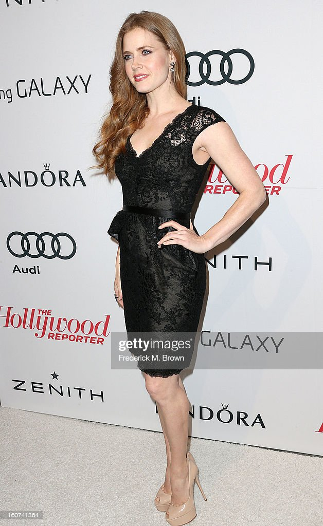 Actress Amy Adams attends The Hollywood Reporter Nominees' Night 2013 Celebrating The 85th Annual Academy Award Nominees at Spago on February 4, 2013 in Beverly Hills, California.