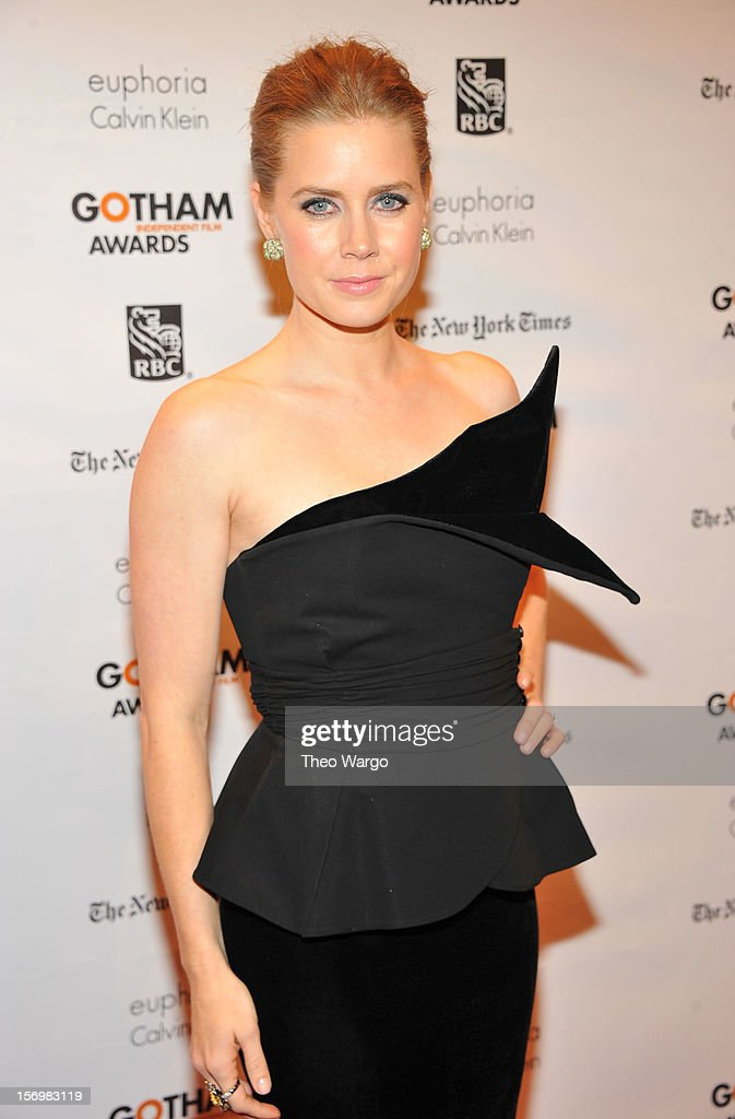 Actress Amy Adams attends the IFP's 22nd Annual Gotham Independent Film Awards at Cipriani Wall Street on November 26, 2012 in New York City.