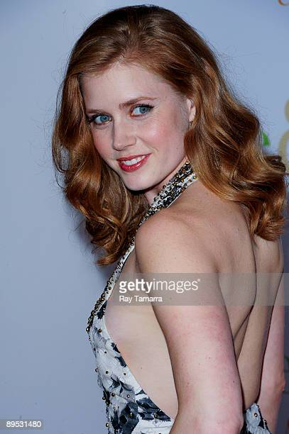 Actress Amy Adams attends the 'Julie Julia' premiere at the Ziegfeld Theatre on July 30 2009 in New York City