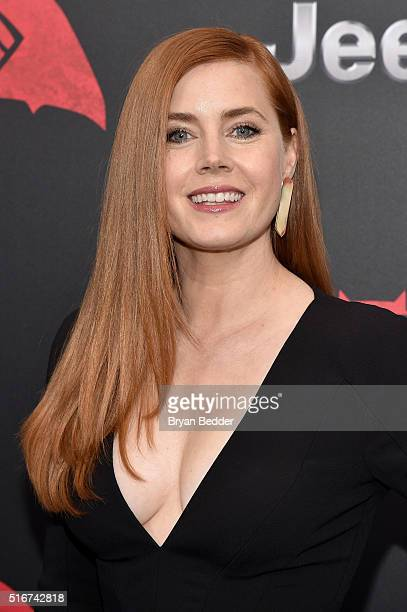 Actress Amy Adams attends the launch of Bai Superteas at the 'Batman v Superman Dawn of Justice' premiere on March 20 2016 in New York City