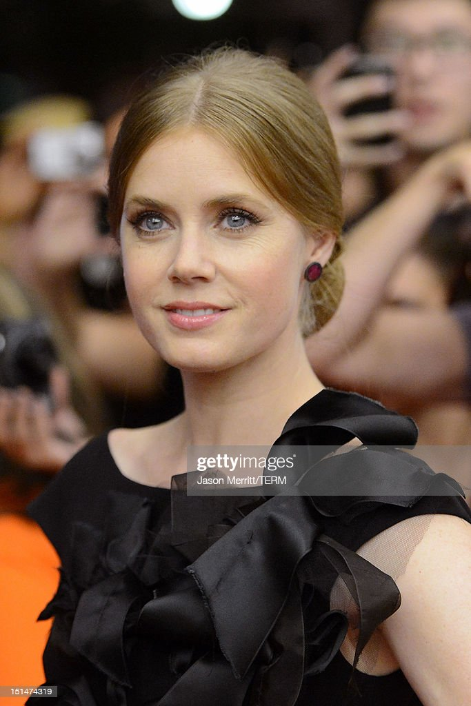 Actress Amy Adams attends 'The Master' Premiere during the 2012 Toronto International Film Festival at Princess of Wales Theatre on September 7, 2012 in Toronto, Canada.