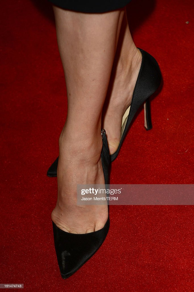 Actress Amy Adams (shoe detail) attends 'The Master' Premiere during the 2012 Toronto International Film Festival at Princess of Wales Theatre on September 7, 2012 in Toronto, Canada.