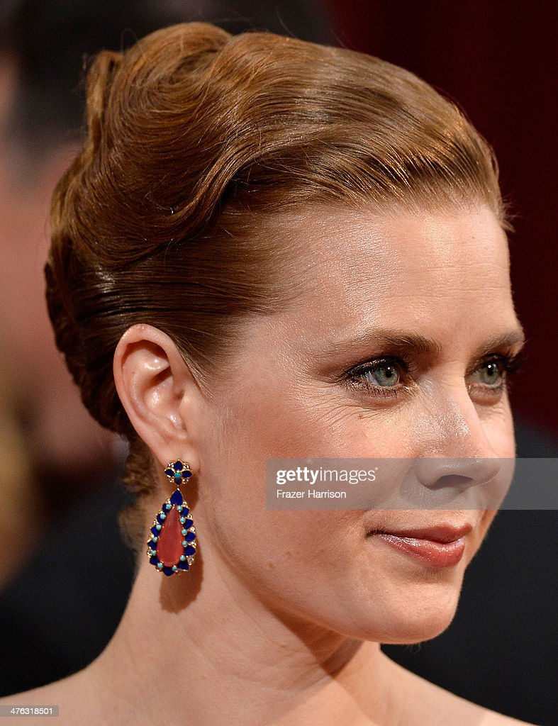 Actress Amy Adams attends the Oscars held at Hollywood & Highland Center on March 2, 2014 in Hollywood, California.
