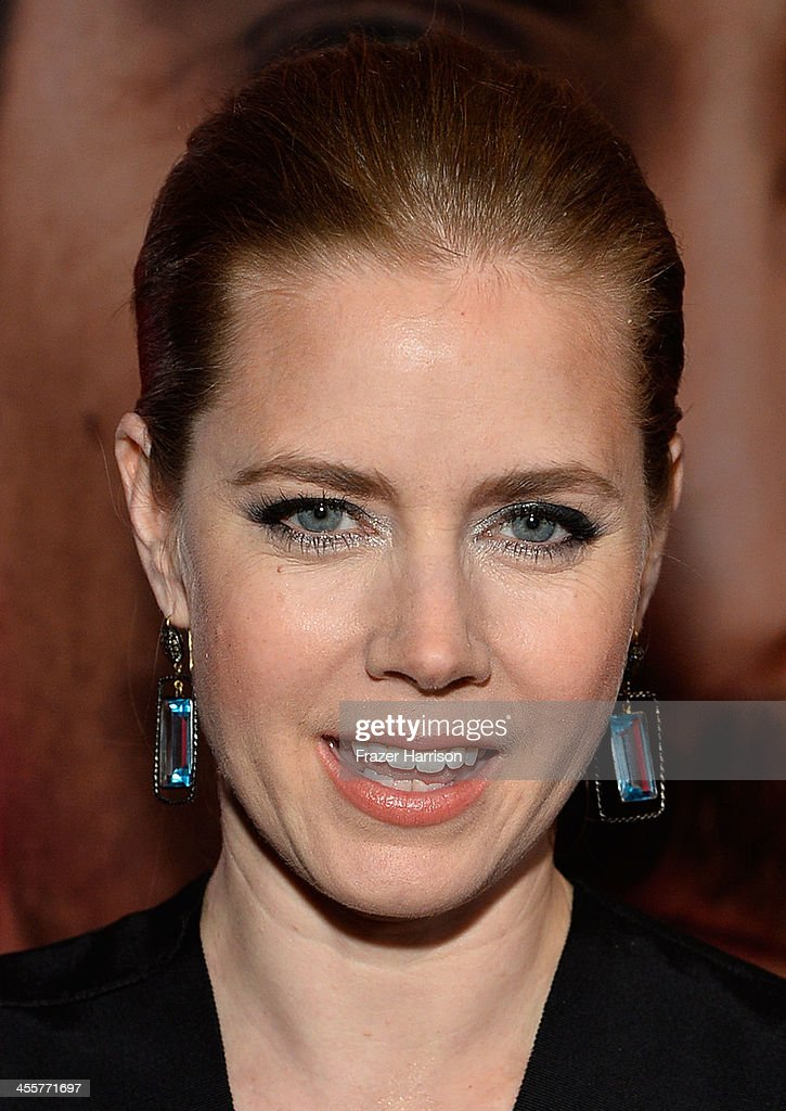 Actress Amy Adams attends the premiere of Warner Bros. Pictures 'Her' at DGA Theater on December 12, 2013 in Los Angeles, California.