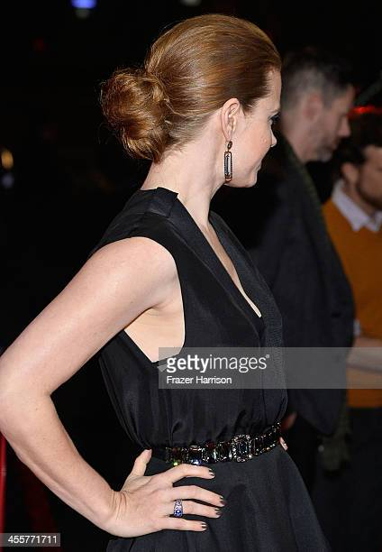Actress Amy Adams attends the premiere of Warner Bros Pictures 'Her' at DGA Theater on December 12 2013 in Los Angeles California