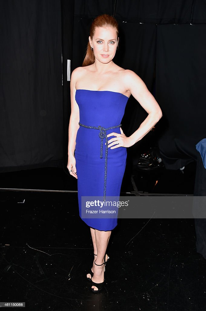 Actress Amy Adams attends the The 41st Annual People's Choice Awards at Nokia Theatre LA Live on January 7 2015 in Los Angeles California