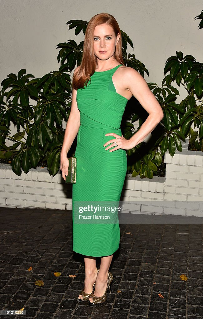 Actress <a gi-track='captionPersonalityLinkClicked' href=/galleries/search?phrase=Amy+Adams&family=editorial&specificpeople=213938 ng-click='$event.stopPropagation()'>Amy Adams</a> attends the W Magazine celebration of the 'Best Performances' Portfolio and The Golden Globes with Cadillac and Dom Perignon at Chateau Marmont on January 8, 2015 in Los Angeles, California.