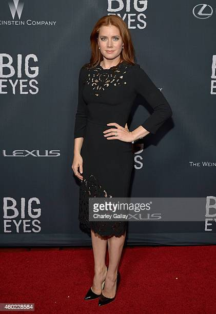 Actress Amy Adams attends The Weinstein Company's 'Big Eyes' Los Angeles special screening in partnership with Lexus at Ace Hotel on December 9 2014...