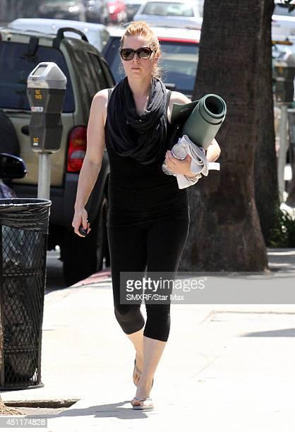 Actress Amy Adams is seen on June 24 2014 in Los Angeles California