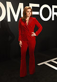 Actress Amy Adams wearing TOM FORD attends the TOM FORD Autumn/Winter 2015 Womenswear Collection Presentation at Milk Studios in Los Angeles on...