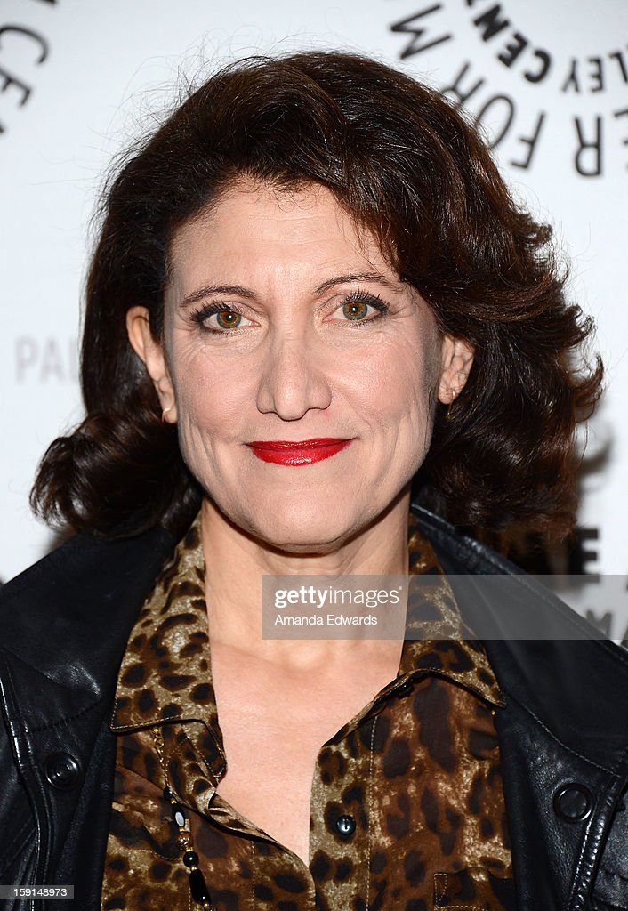Actress Amy Aquino arrives at The Paley Center for Media presents an evening with Syfy's 'Being Human' season 3 premiere screening and panel at The Paley Center for Media on January 8, 2013 in Beverly Hills, California.