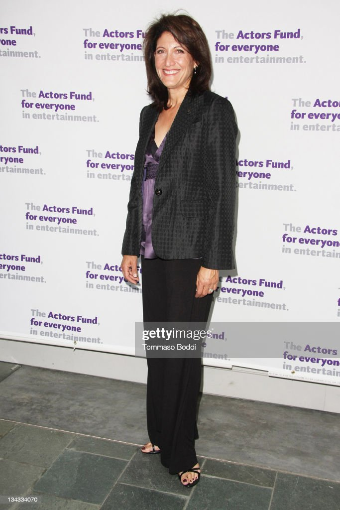 Actress Amy Aquino attends the Actors' Fund's 15th annual Tony Awards party held at the Skirball Cultural Center on June 12, 2011 in Los Angeles, California.
