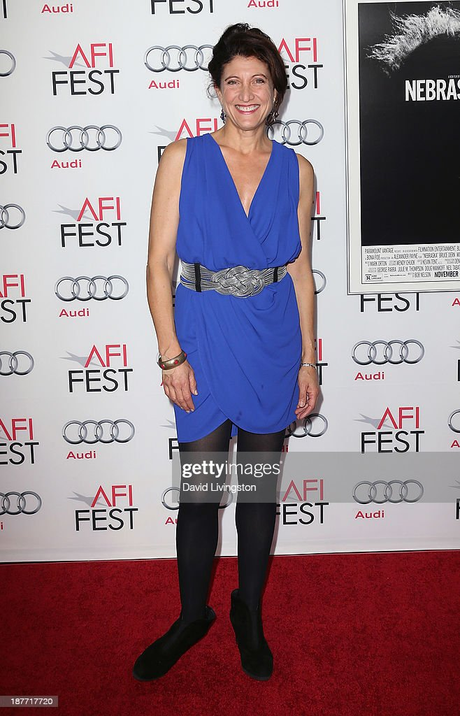 Actress Amy Aquino attends the AFI FEST 2013 presented by Audi screening of 'Nebraska' at the TCL Chinese Theatre on November 11, 2013 in Hollywood, California.