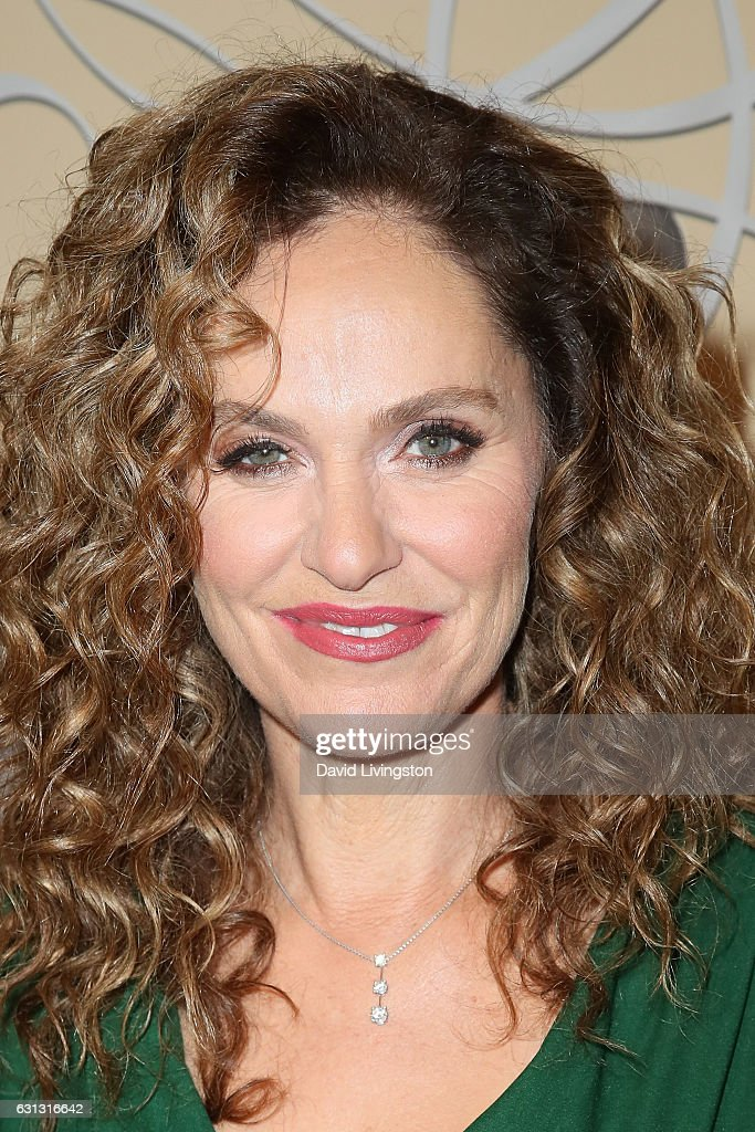 Actress Amy Brenneman arrives at HBO's Official Golden Globe Awards after party at the Circa 55 Restaurant on January 8, 2017 in Los Angeles, California.
