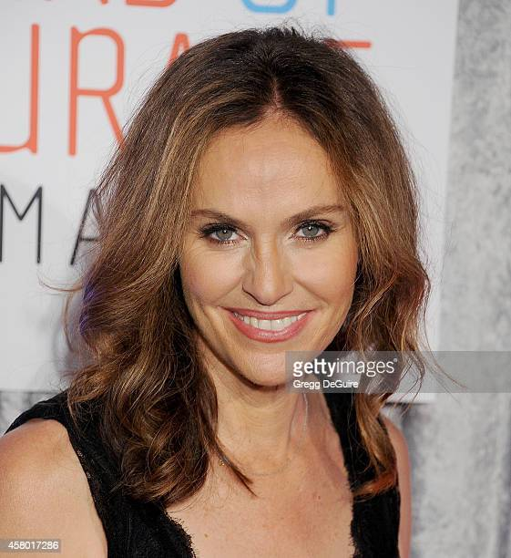 Actress Amy Brenneman arrives at the 25th Annual IWMF Courage In Journalism Awards at The Beverly Hilton Hotel on October 28 2014 in Beverly Hills...