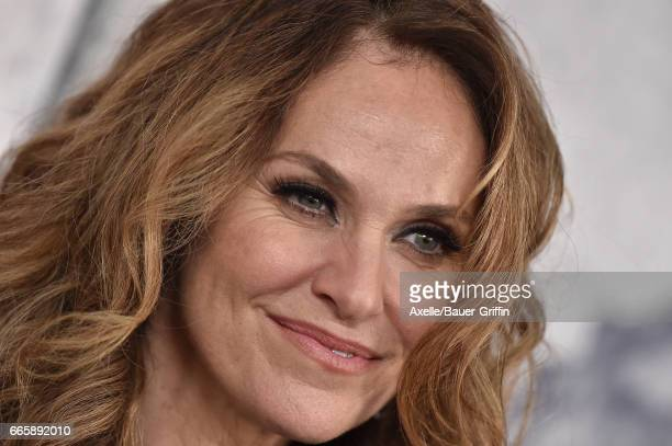 Actress Amy Brenneman arrives at the Season 3 Premiere of 'The Leftovers' at Avalon Hollywood on April 4 2017 in Los Angeles California