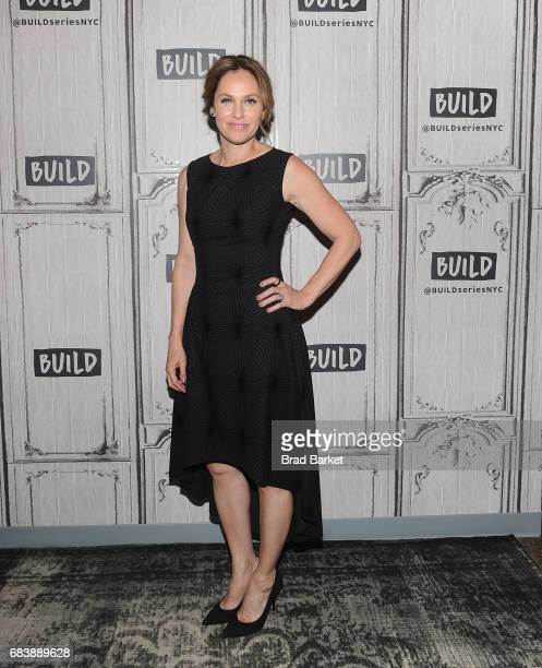 Actress Amy Brenneman attends Build Presents Amy Brenneman Discussing 'The Leftovers' at Build Studio on May 16 2017 in New York City