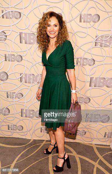 Actress Amy Brenneman attends HBO's Official Golden Globe Awards After Party at Circa 55 Restaurant on January 8 2017 in Beverly Hills California