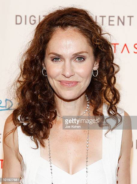 Actress Amy Brenneman attends the 2010 Digitas The Third Act Digital Content NewFront Conference at Skylight Studio on June 9 2010 in New York City