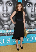 Actress Amy Brenneman attends the premiere of 'Confirmation' at Paramount Theater on the Paramount Studios lot on March 31 2016 in Hollywood...