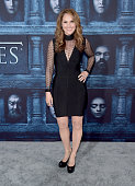 Actress Amy Brenneman attends the premiere of HBO's 'Game Of Thrones' Season 6 at TCL Chinese Theatre on April 10 2016 in Hollywood California
