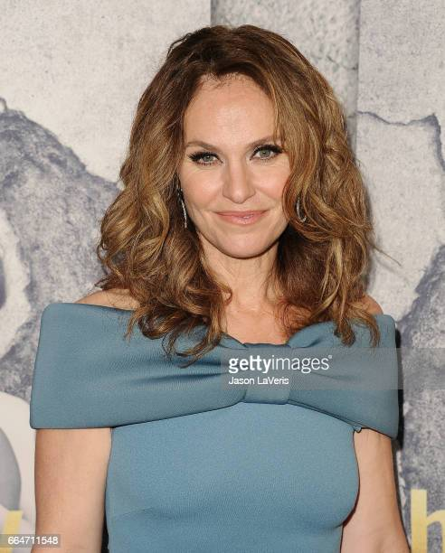 Actress Amy Brenneman attends the season 3 premiere of 'The Leftovers' at Avalon Hollywood on April 4 2017 in Los Angeles California