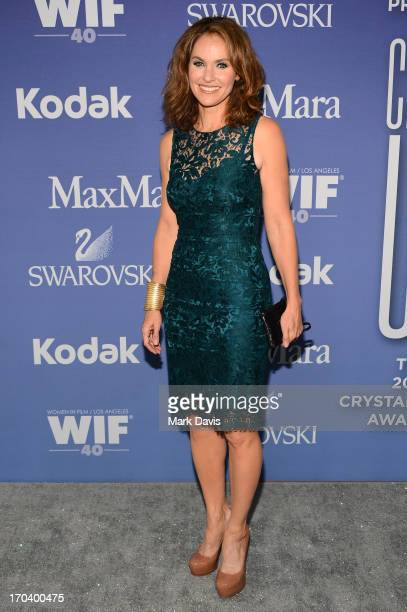 Actress Amy Brenneman attends Women In Film's 2013 Crystal Lucy Awards at The Beverly Hilton Hotel on June 12 2013 in Beverly Hills California