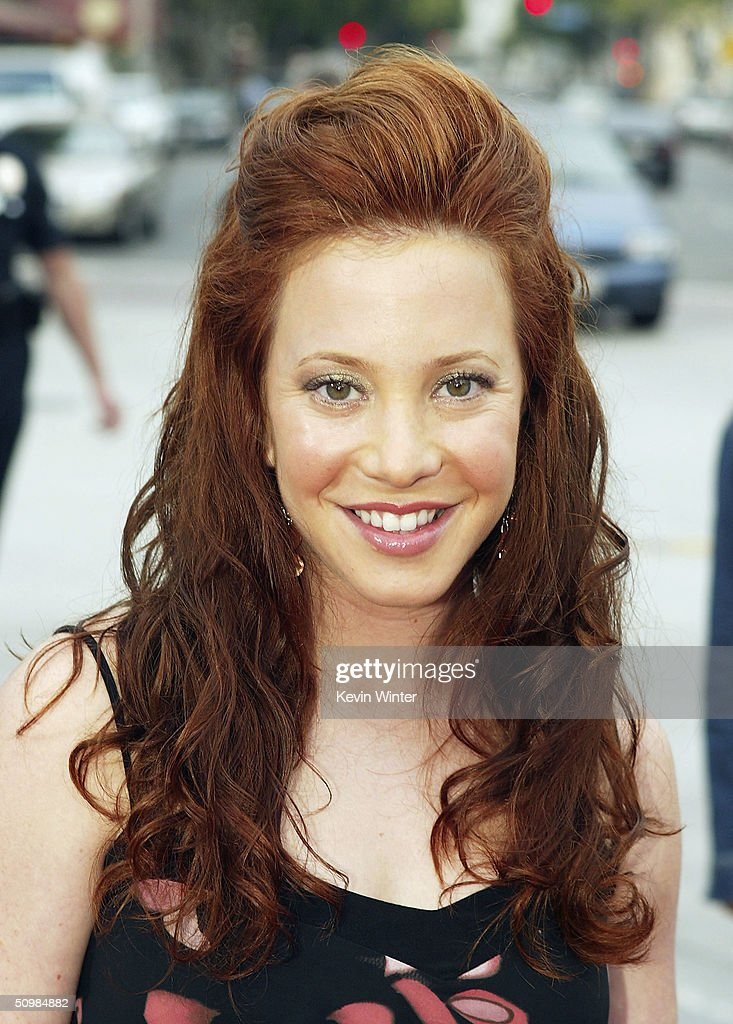 Actress Amy Davidson arrives at the premiere of New Lines' 'The Notebook' on June 21, 2004 at the Village Theatre, in Los Angeles, California.