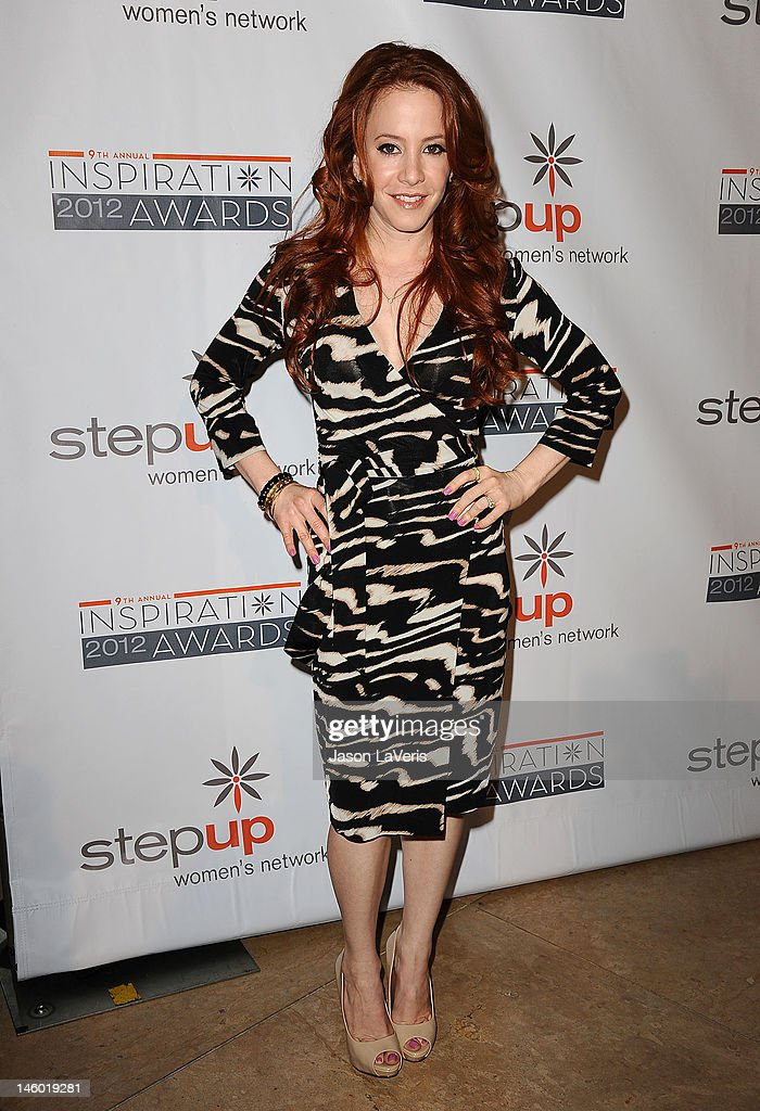Actress Amy Davidson attends StepUp Women's Network 9th annual Inspiration Awards at The Beverly Hilton Hotel on June 8, 2012 in Beverly Hills, California.