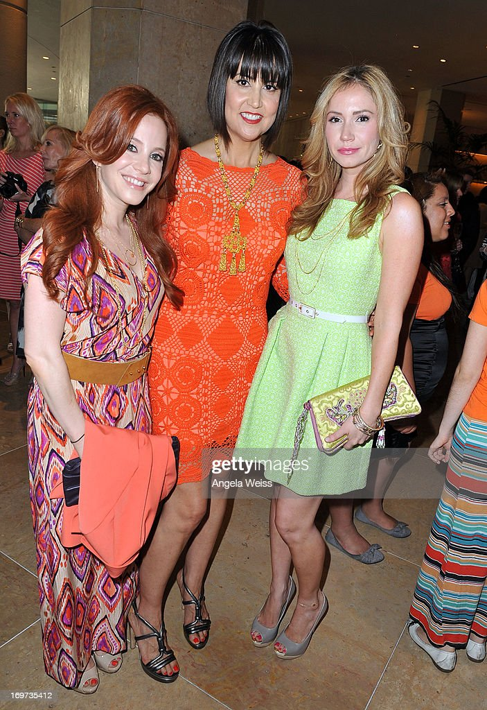 Actress Amy Davidson, designer Trina Turk and actress Ashley Jones attend Step Up Women's Network 10th annual Inspiration Awards at The Beverly Hilton Hotel on May 31, 2013 in Beverly Hills, California.