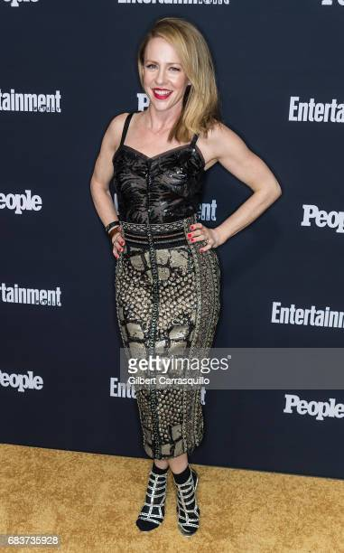 Actress Amy Hargreaves attends Entertainment Weekly People New York Upfronts at 849 6th Ave on May 15 2017 in New York City