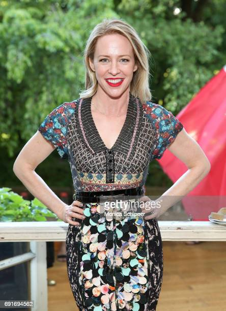 Actress Amy Hargreaves attends the 10th Anniversary Films On The Green Opening Cocktail Party at Cultural Services of the French Embassy on June 2...