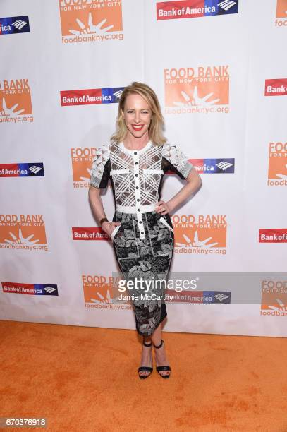 Actress Amy Hargreaves attends the Food Bank for New York City CanDo Awards Dinner 2017 on April 19 2017 in New York City