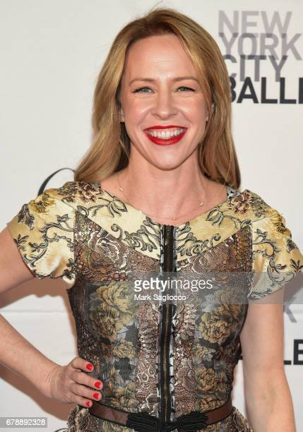 Actress Amy Hargreaves attends the New York City Ballet 2017 Spring Gala at the David H Koch Theater at Lincoln Center on May 4 2017 in New York City