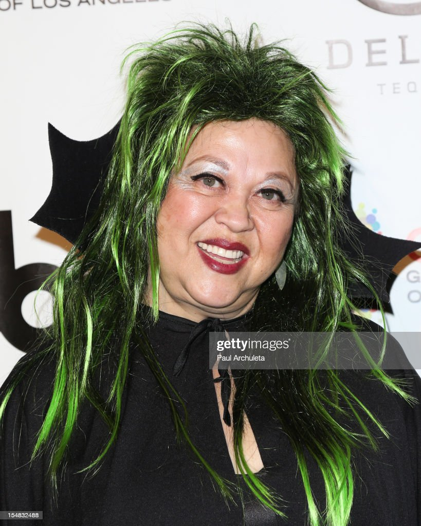 Actress Amy Hill attends Fred & Jason's annual Halloweenie charity event at The Lot on October 26, 2012 in West Hollywood, California.
