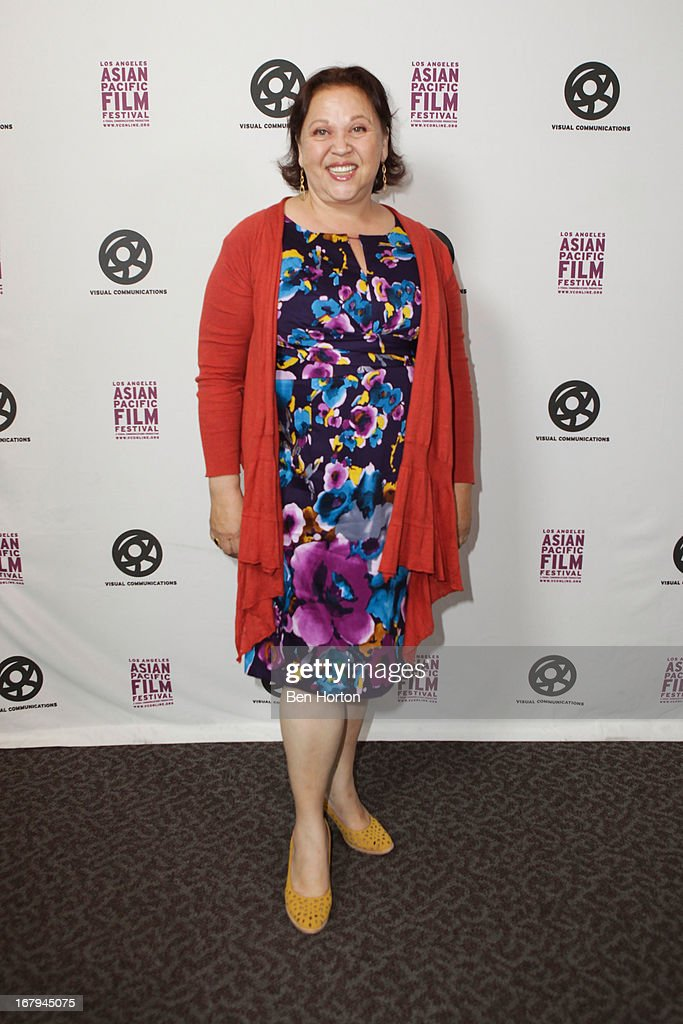 Actress Amy Hill attends the 2013 LA Asian Pacific Film Festival - opening night premiere of 'Linsanity' at the Directors Guild Of America on May 2, 2013 in Los Angeles, California.