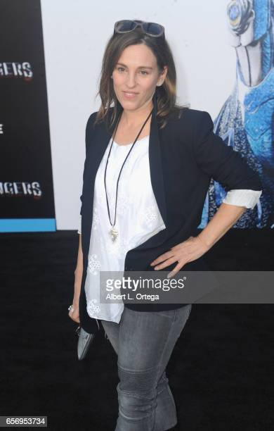 Actress Amy Jo Johnson arrives for the Premiere Of Lionsgate's 'Power Rangers' held on March 22 2017 in Westwood California