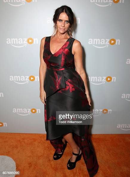 Actress Amy Landecker attends Amazon's Emmy Celebration at Sunset Tower Hotel West Hollywood on September 18 2016 in West Hollywood California