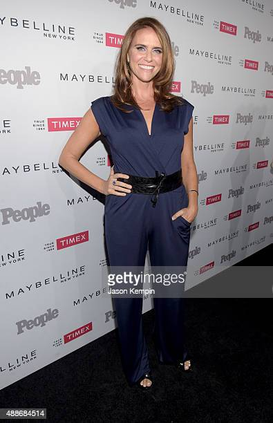 Actress Amy Landecker attends PEOPLE's Ones To Watch Event on September 16 2015 in West Hollywood California