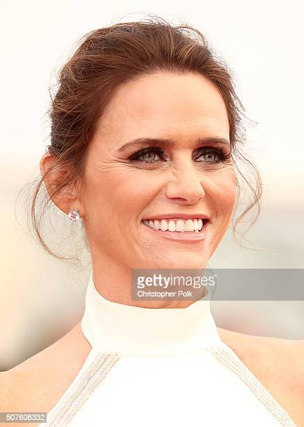 Actress Amy Landecker attends The 22nd Annual Screen Actors Guild Awards at The Shrine Auditorium on January 30 2016 in Los Angeles California...